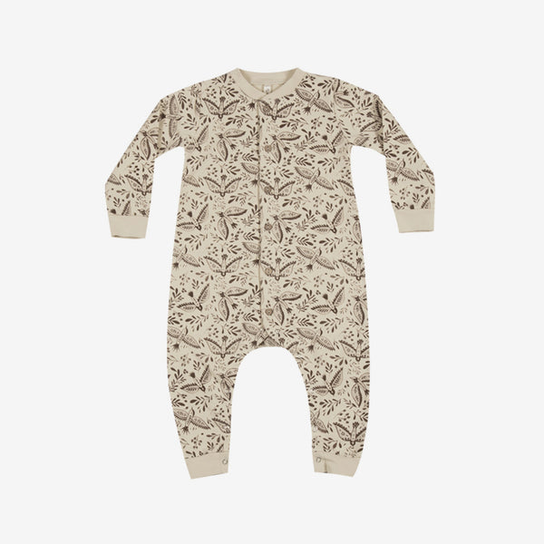 Folk Birds Long-sleeve Jumpsuit