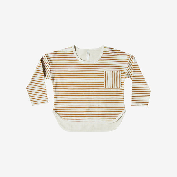 Ginger Stripe Long-sleeve Tee