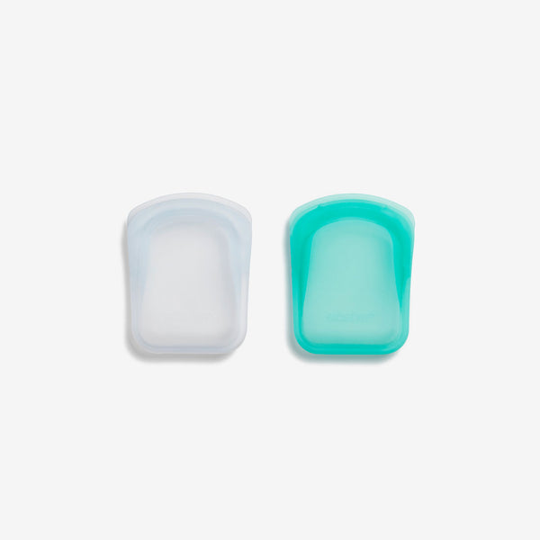 Stasher Silicone Pinch-loc™ Pocket Pouch Set of 2