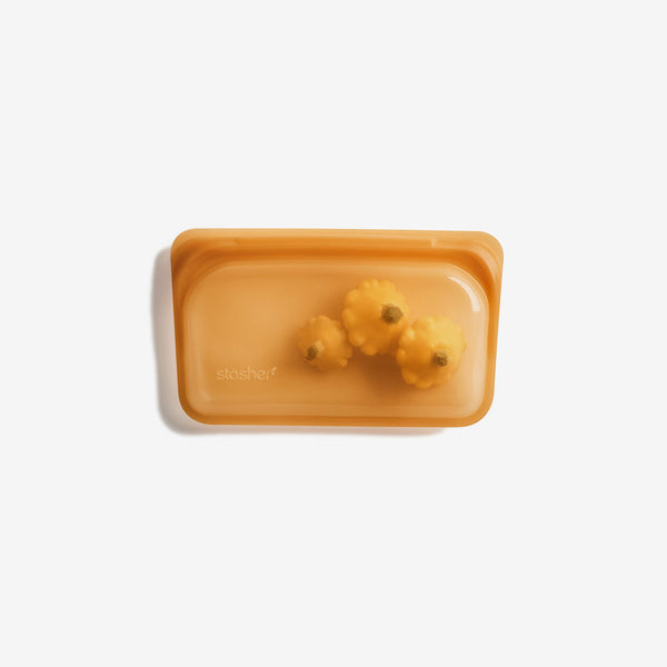 Stasher Silicone Pinch-loc™ SNACK - Honey