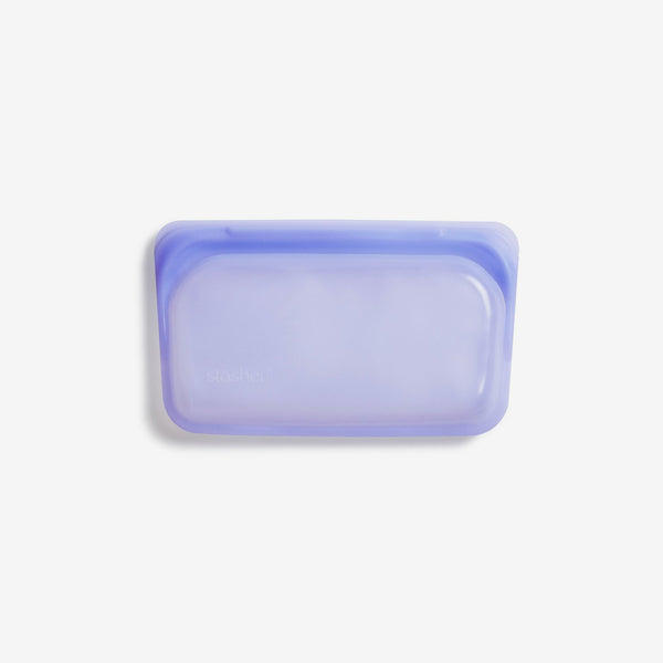Stasher Silicone SNACK Bag - Amethyst