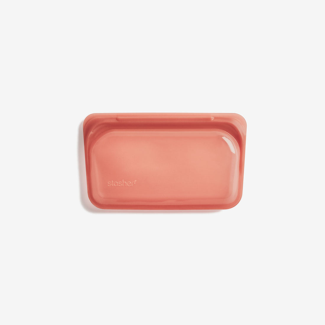 Stasher Silicone SNACK Bag - Terracotta
