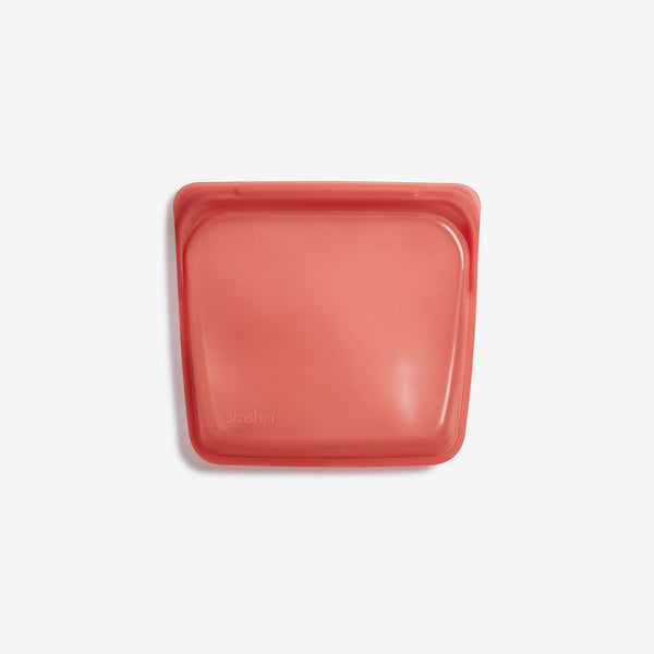 Stasher Silicone Pinch-loc™ SANDWICH - Terracotta