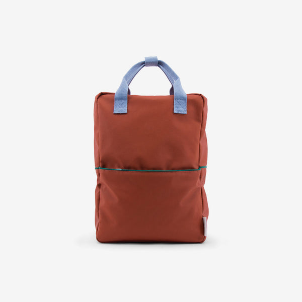 Backpack/Diaper Bag - Terracotta