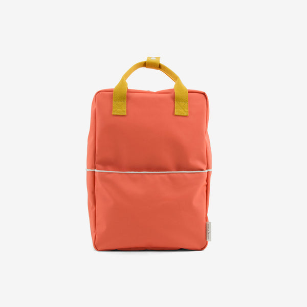 Backpack/Diaper Bag - Teddy Papaya