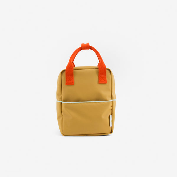 Small Backpack Teddy - Ochre