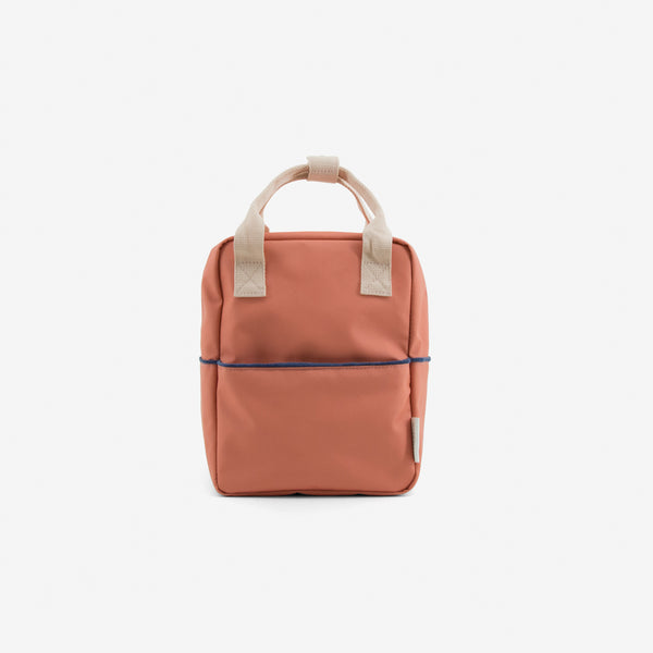 Small Backpack Teddy - Terracotta