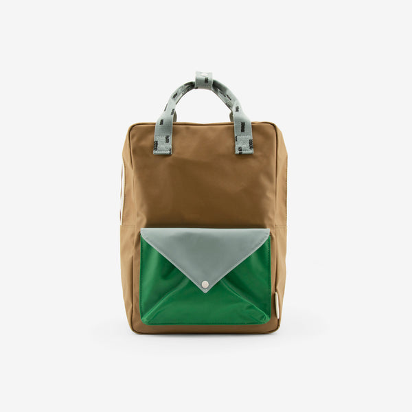 Backpack/Diaper Bag - Brassy Green Sprinkles Envelope