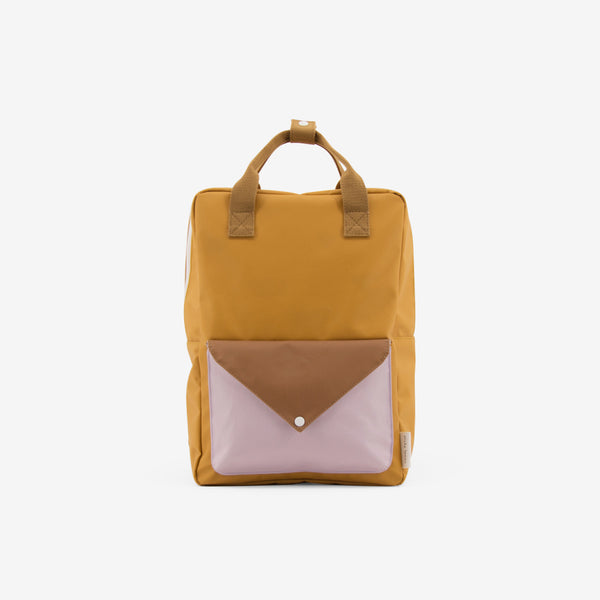Backpack/Diaper Bag - Caramel Fudge Envelope