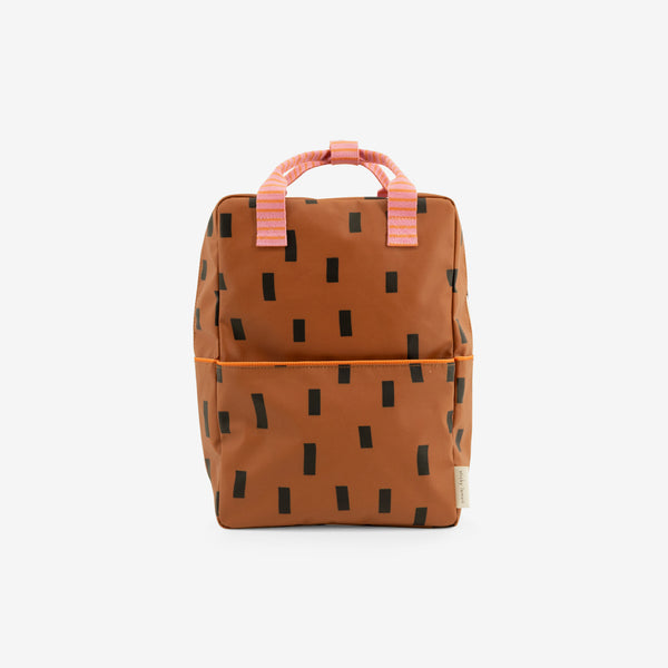 Backpack/Diaper Bag - Sprinkles Syrup Brown