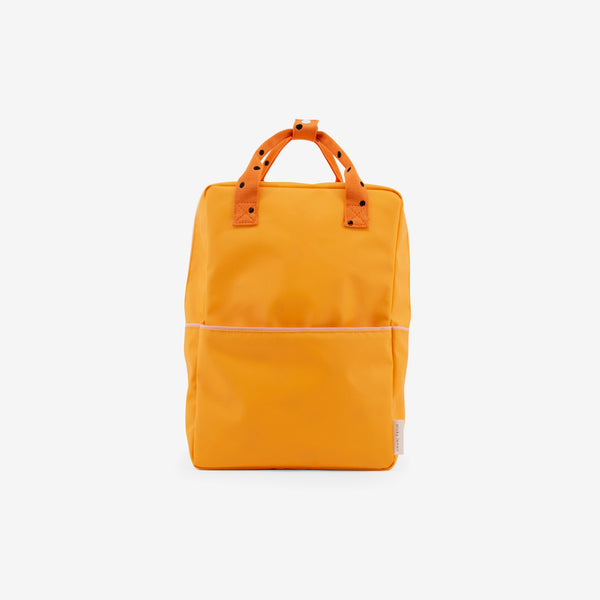 Backpack/Diaper Bag - Sunny Yellow Freckles