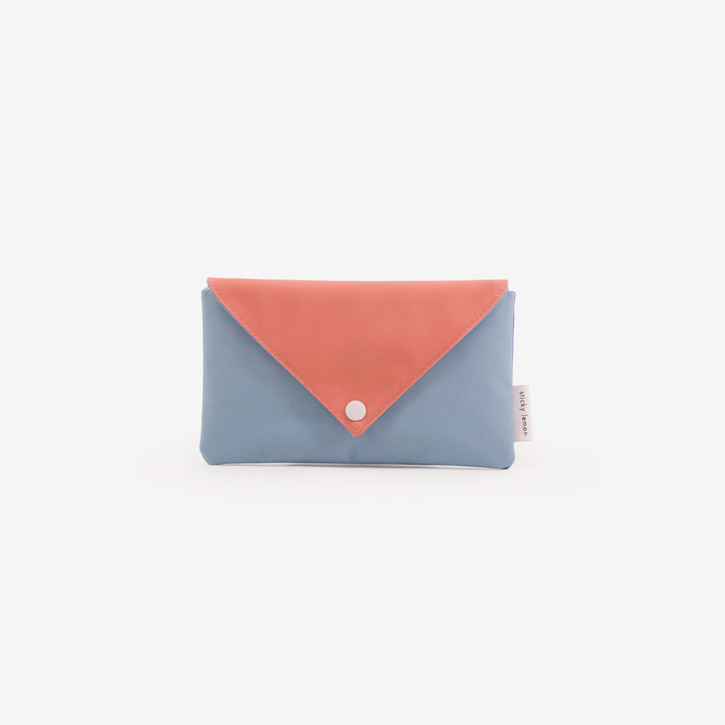 Recycled PET Envelope Pouch - Blues
