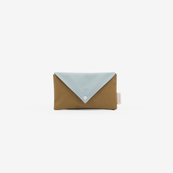 Recycled PET Envelope Pouch - Mist/Olive
