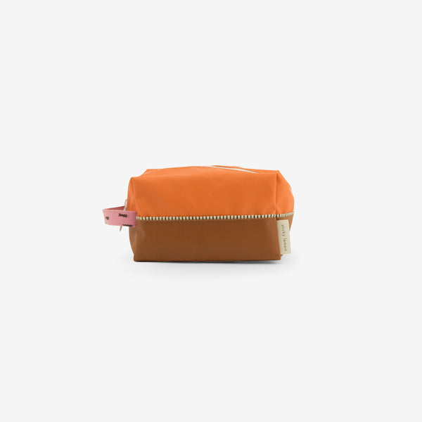 Recycled PET Toiletry Bag - Carrot Orange Sprinkles
