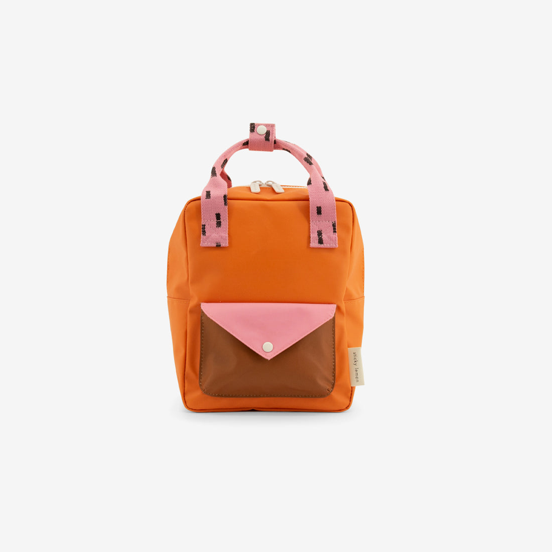 Small Backpack - Carrot Orange Sprinkles Envelope