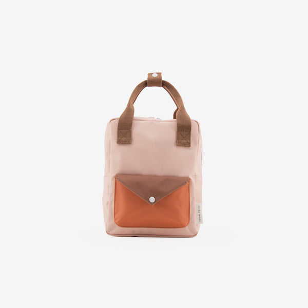 Small Backpack - Peony Pink Envelope