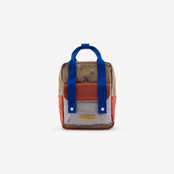 Small Backpack Corduroy - Camper