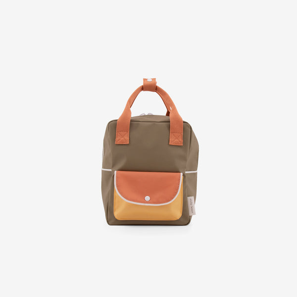 Small Backpack - 70's Green Wanderer