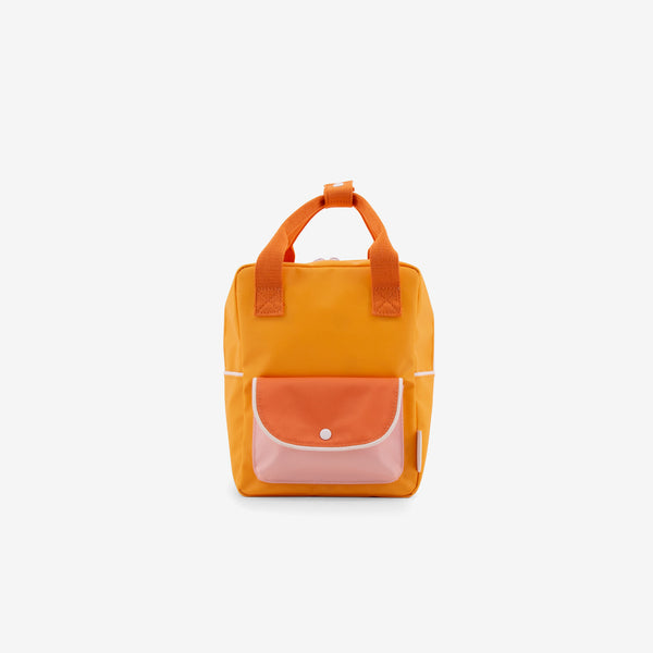 Small Backpack - Sunny Yellow Wanderer