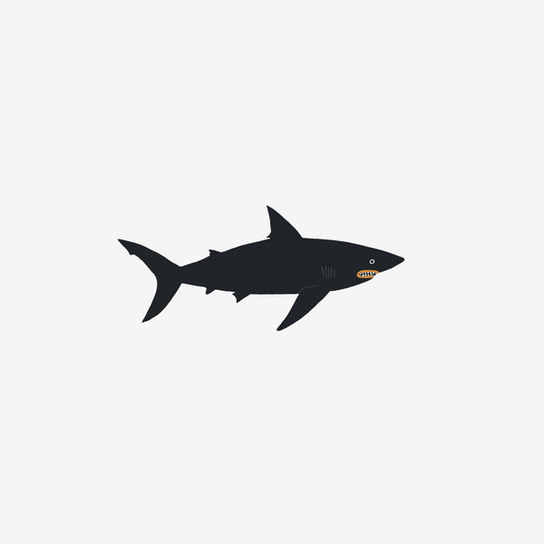 Temporary Tattoo Pairs - Shark