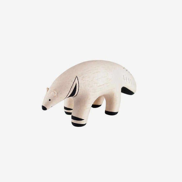 Polepole Miniature Wooden Animals - Anteater