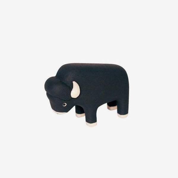 Polepole Miniature Wooden Animals - Bison