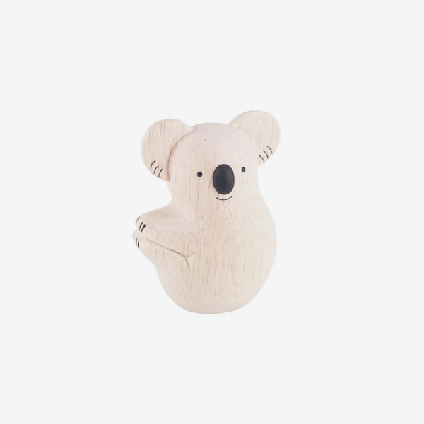 Polepole Miniature Wooden Animals - Koala