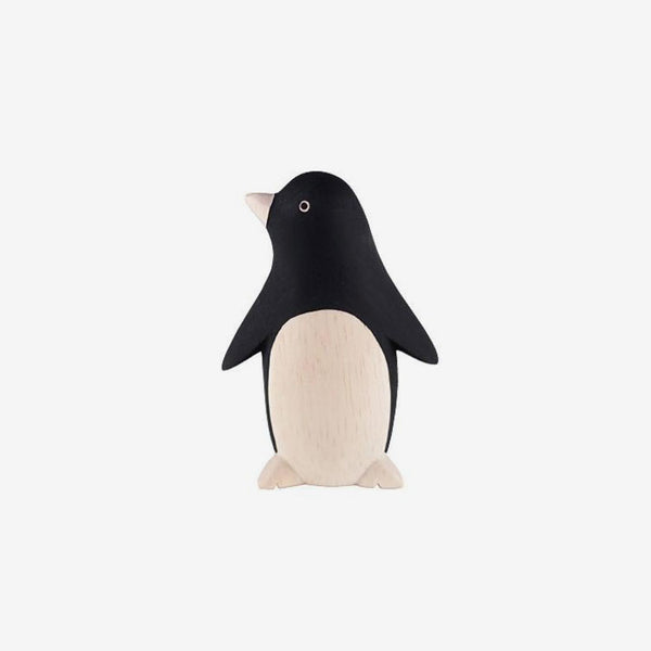 Polepole Miniature Wooden Animals - Penguin