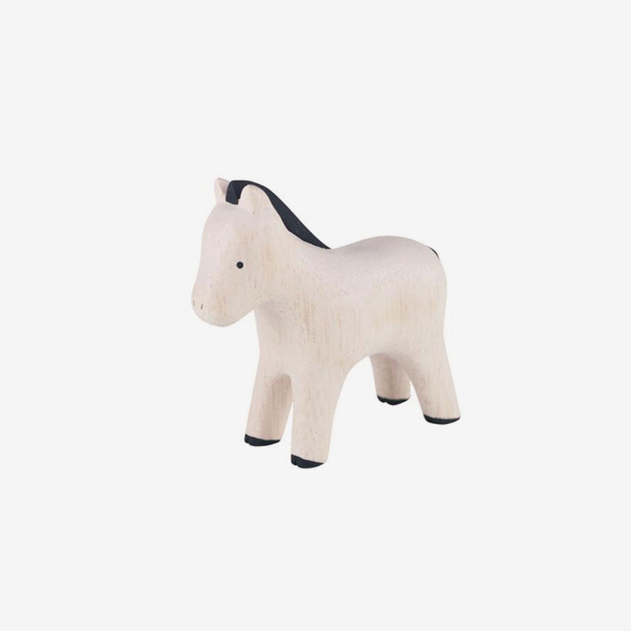 Polepole Miniature Wooden Animals - Pony