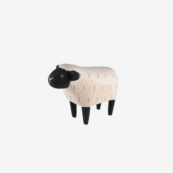 Polepole Miniature Wooden Animals - Sheep