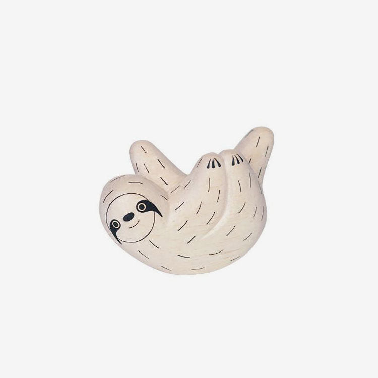 Polepole Miniature Wooden Animals - Sloth