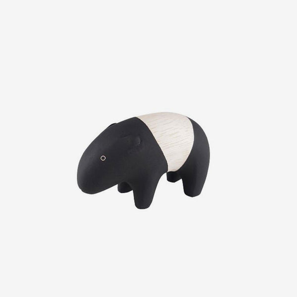 Polepole Miniature Wooden Animals - Tapir