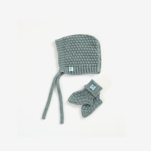 Bellamy Merino Baby Set - Sea
