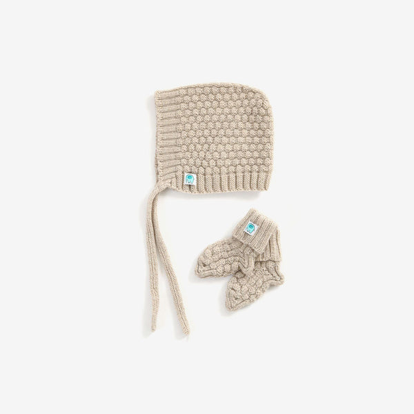 Bellamy Merino Baby Set - Oat
