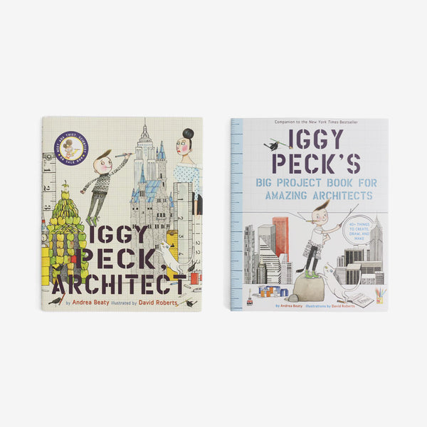 Iggy Peck, Architect - Book + Workbook Set of 2