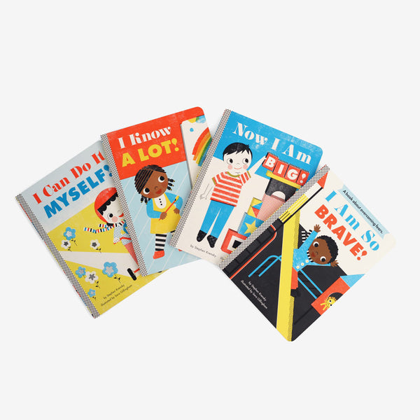 "Set of 4 Retro ""I Can"" Books"