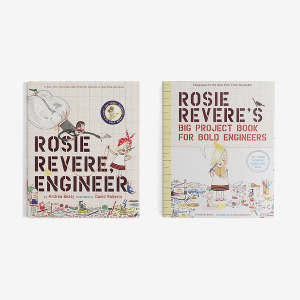 Rosie Revere, Engineer - Book + Workbook Set of 2
