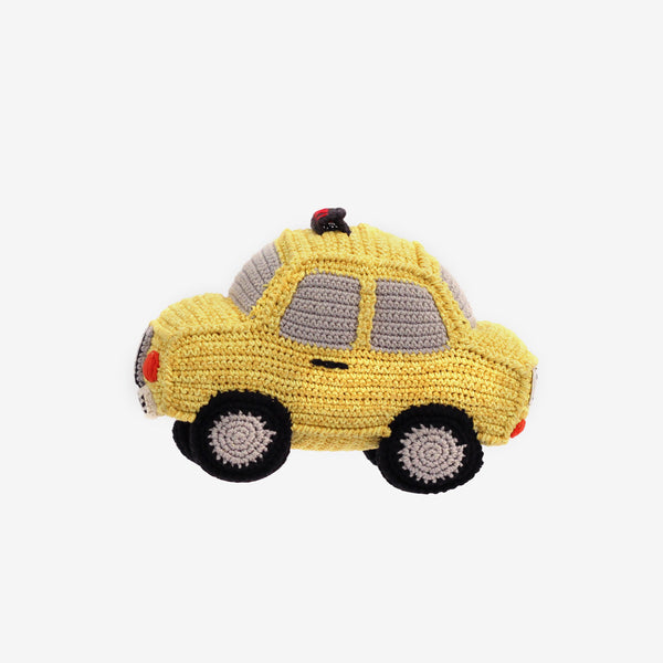 Crochet Yellow Cab