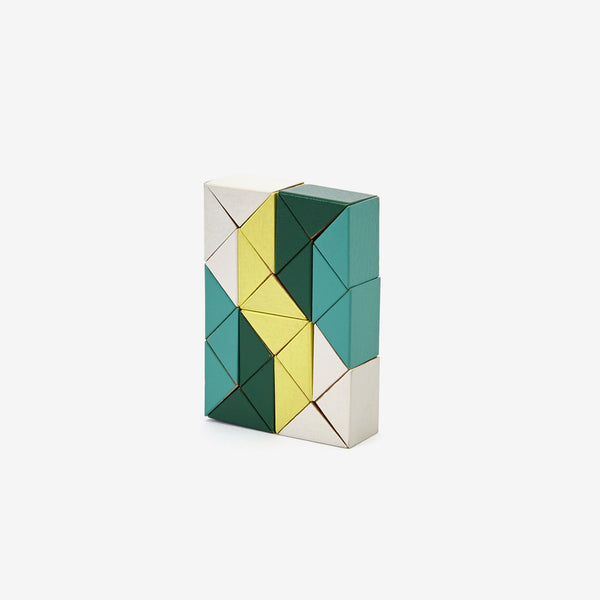 Twister Snaking Blocks - Yellow/Green