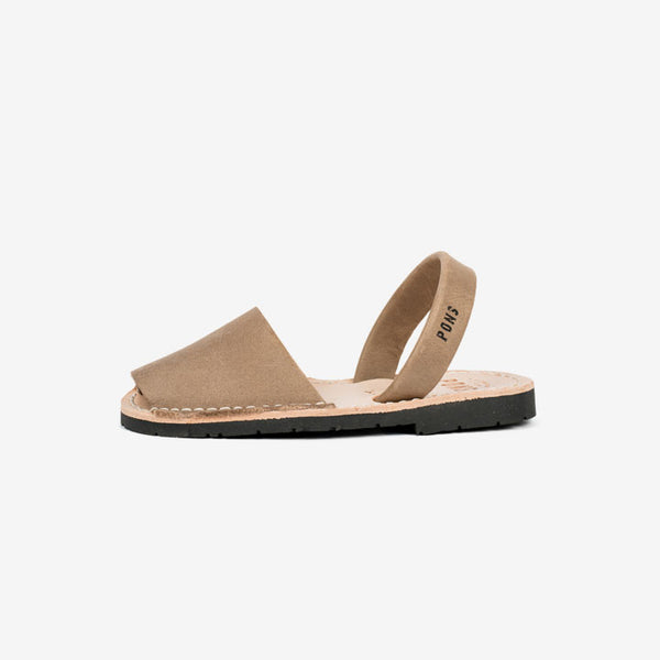 Classic Kids Avarcas - Taupe
