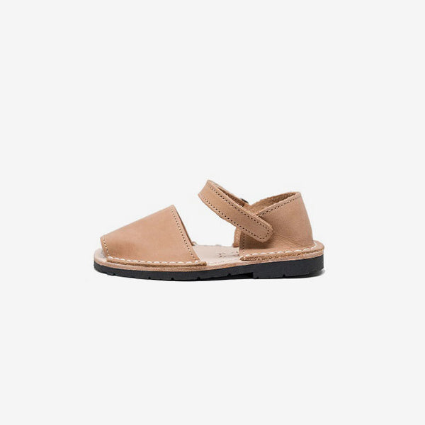 Frailera Kids Avarcas Sandals - Tan