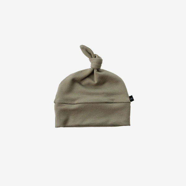 Bamboo Baby Beanie - Olive