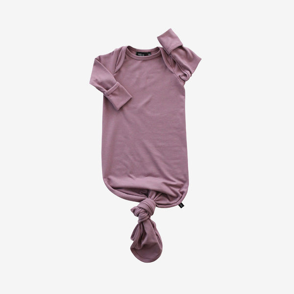 Bamboo Baby Sleeper Gown - Pickled Ginger