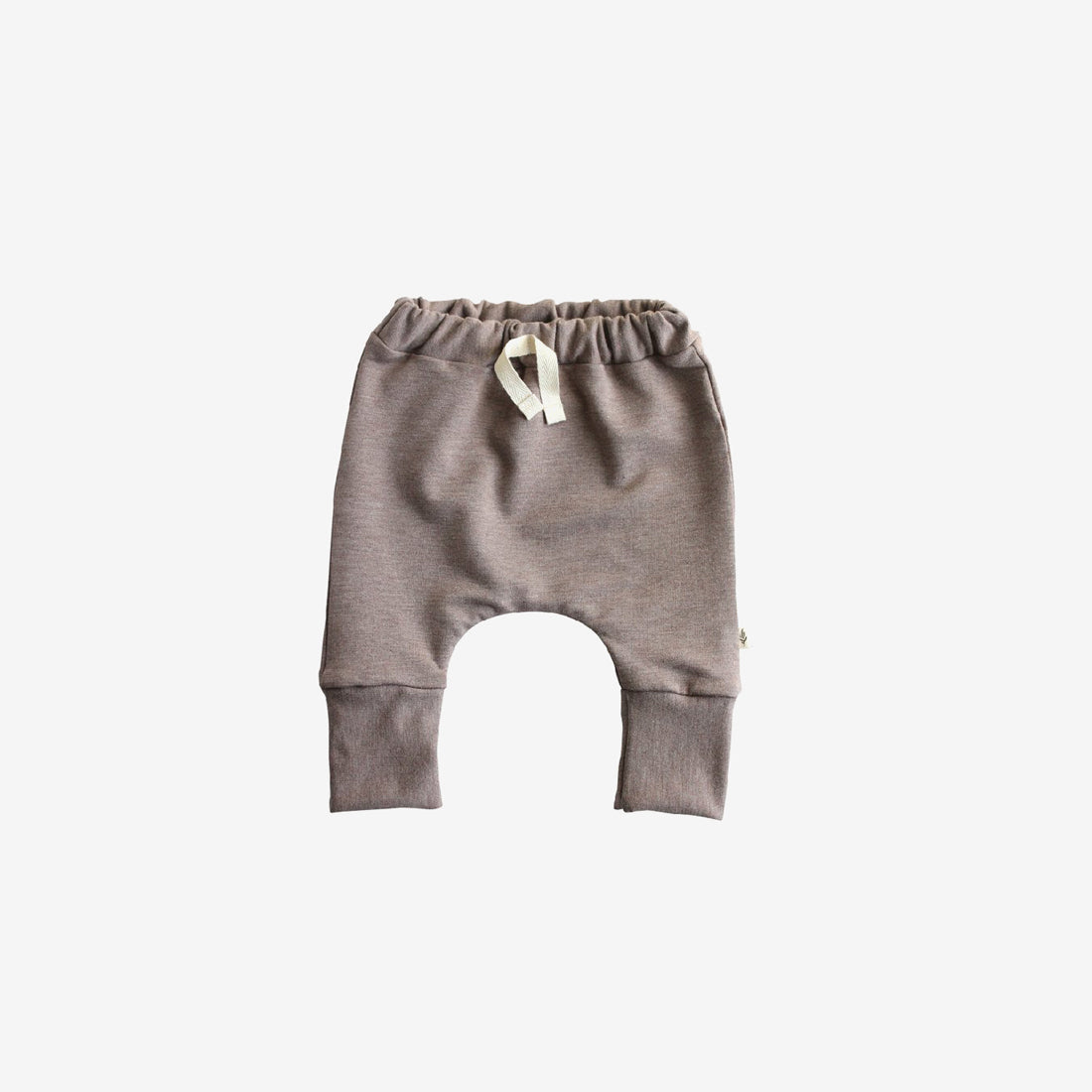 Bamboo Fleece Slim Harems - Cocoa Heather