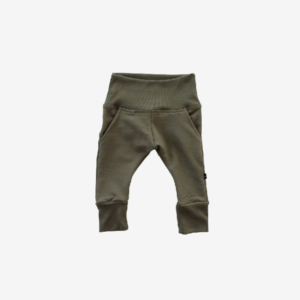 Bamboo Fleece Sweat Pant - Olive