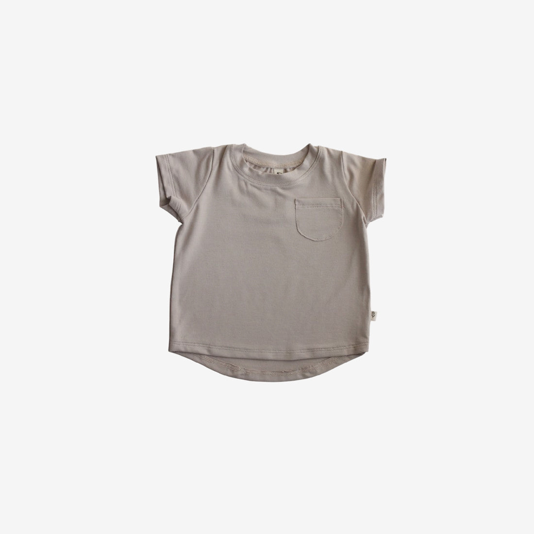 Bamboo Jersey Pocket Tee - Fawn