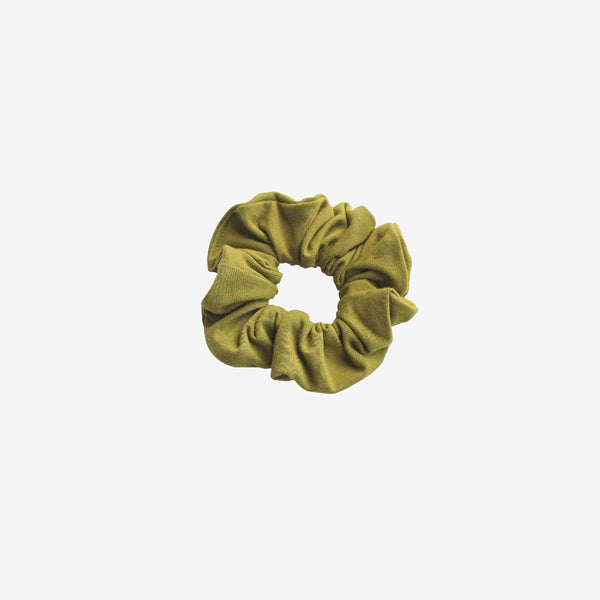 Bamboo Jersey Scrunchie - Chartreuse