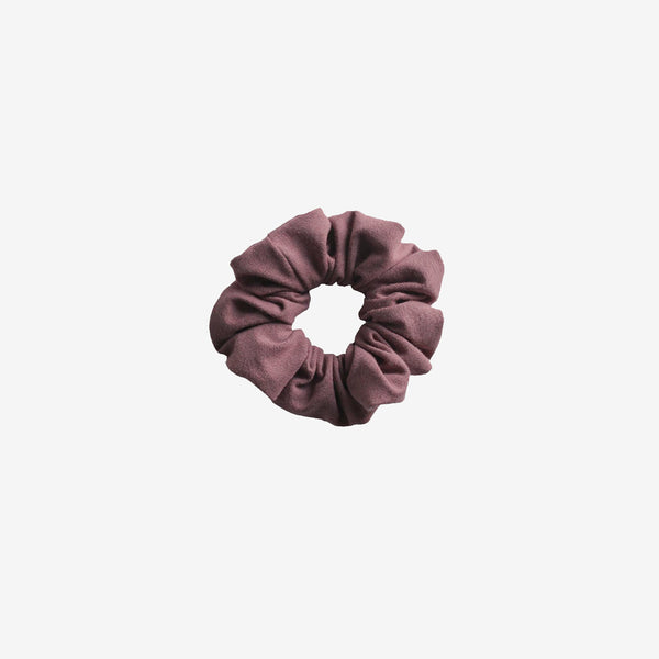 Bamboo Jersey Scrunchie - Rose Brown