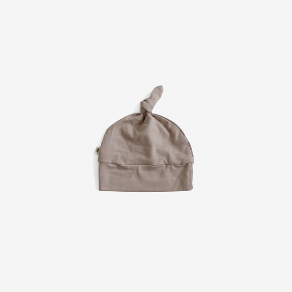 Bamboo Knotted Beanie - Fawn