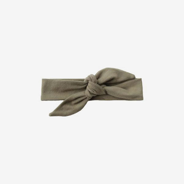 Bamboo Knotted Headband - Olive
